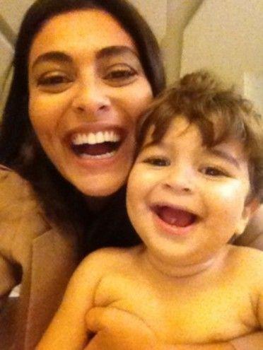 Juliana Paes publica foto fofa com o filho e diz: