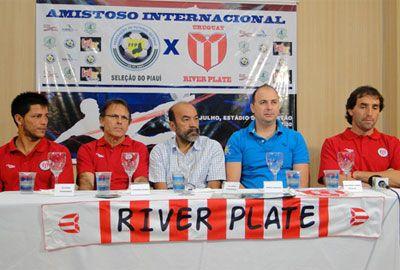 River Plate do Uruguai enfrenta a Seleção Piauiense dia 22