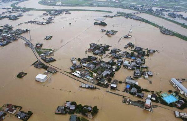 Número de mortos pelas fortes chuvas sobe para 24 no Japão