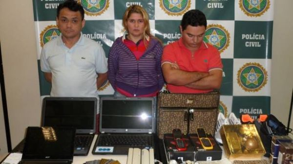 Trio que clonava cartões gastou mais de R$ 25 mil das vítimas em menos de um dia