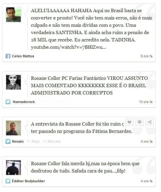 Após declarações, Rosane Collor vira piada nas redes sociais
