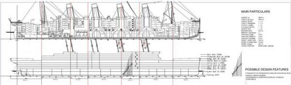 Novo Titanic terá compartimento extra de segurança, diz dono do projeto