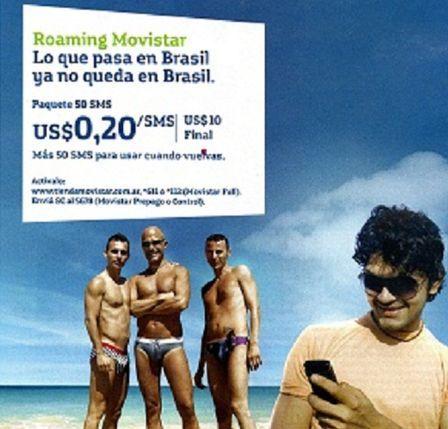 Publicidade argentina causa polêmica ao comparar o Brasil a Las Vegas