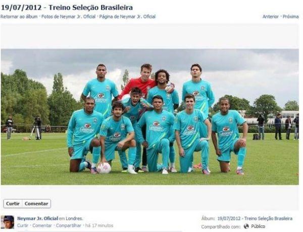 Redes sociais transformam treinos de brasileiros em Londres em