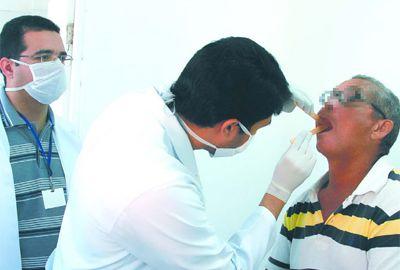 Câncer de boca é rastreado pelo HGV
