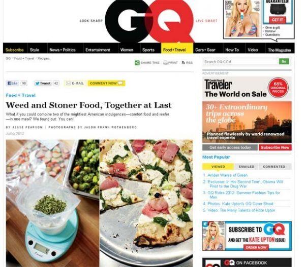Chefs dos EUA criam menu secreto de pratos temperados com maconha