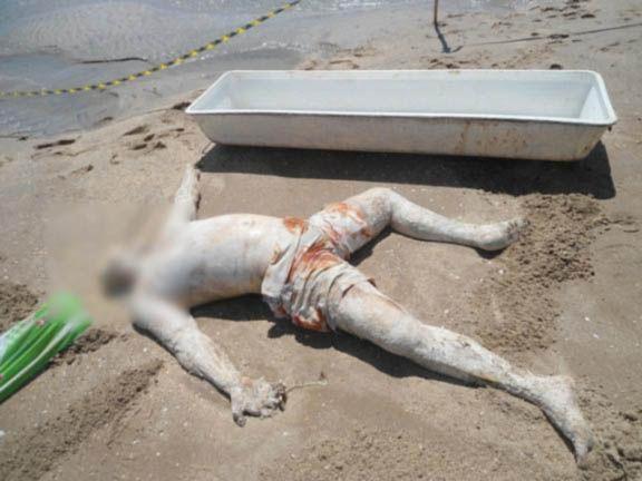 Corpo de homem afogado aparece na praia do Peito de Moça