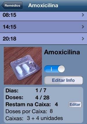 Aplicativo lembra hora de tomar remédio e ajuda a controlar doses