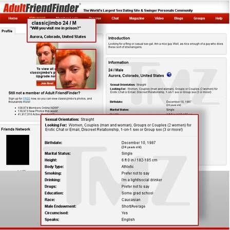 Autor de massacre em cinema era obcecado por modelo e tinha perfil em site de sexo