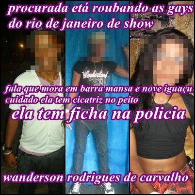 Bafão no Facebook: transformista denuncia roubo de peruca, e ladrão ameaça colocar fogo na casa dela