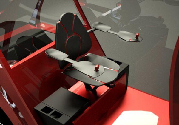 Empilhadeira elétrica conceito faz trabalho pesado com mais segurança