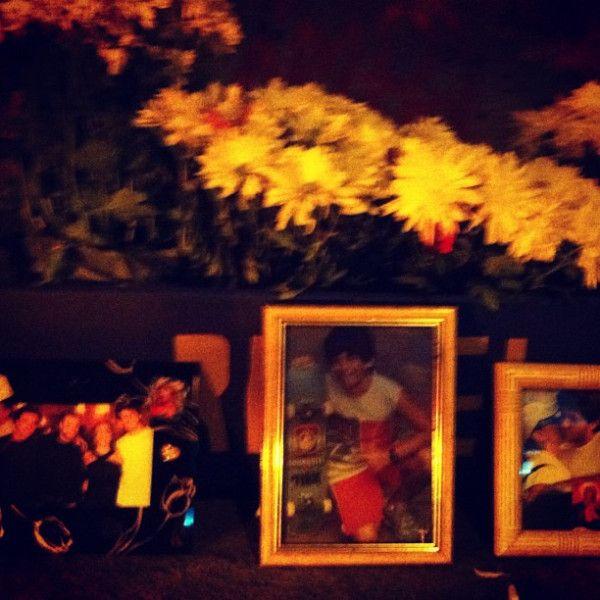 Cissa Guimarães homenageia filho morto em túnel  do Rio
