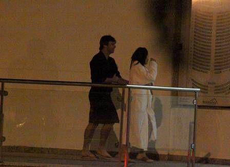 Marcelo Faria curti frio em serra com Fernanda Vasconcellos