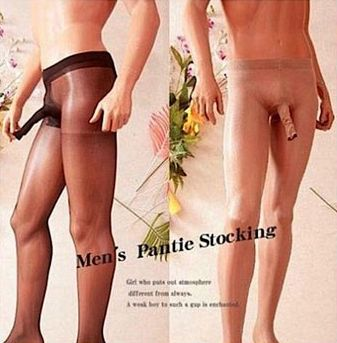 Homens ganham meia-calça com compartimento para o pênis