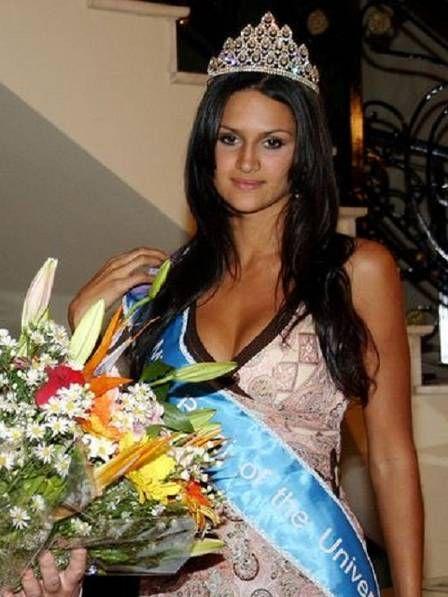 Arremessadora é ex-miss Paraguai e modelo nas horas vagas