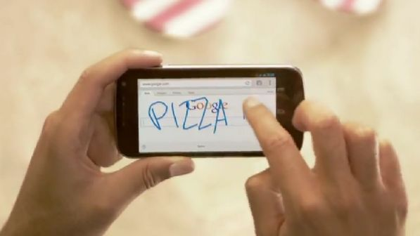 Google lança novo serviço que permite fazer buscas com o dedo