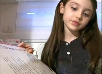 Menina de sete anos se inspira em leituras e lança livro