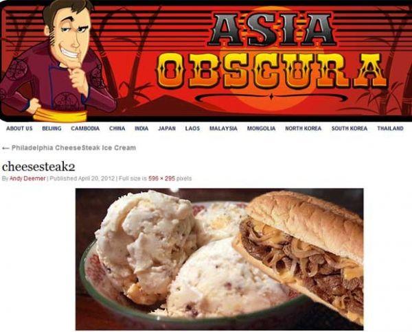 Blogueiro cria receita de sorvete de carne com queijo