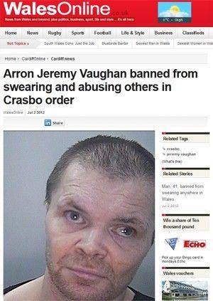 Justiça proíbe homem de falar palavrões e xingar pessoas