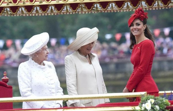 Status de Kate na família real é