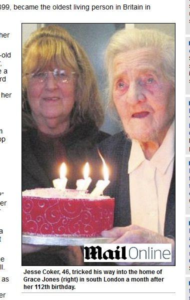 Mulher mais velha da Inglaterra sofre dois assaltos aos 112 anos