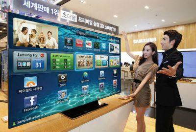 Samsung lança super TV LCD de 72 polegadas que custa R$ 36 mil