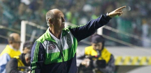 Felipão xinga equipe da TV após Palmeiras vencer por 2 a 0