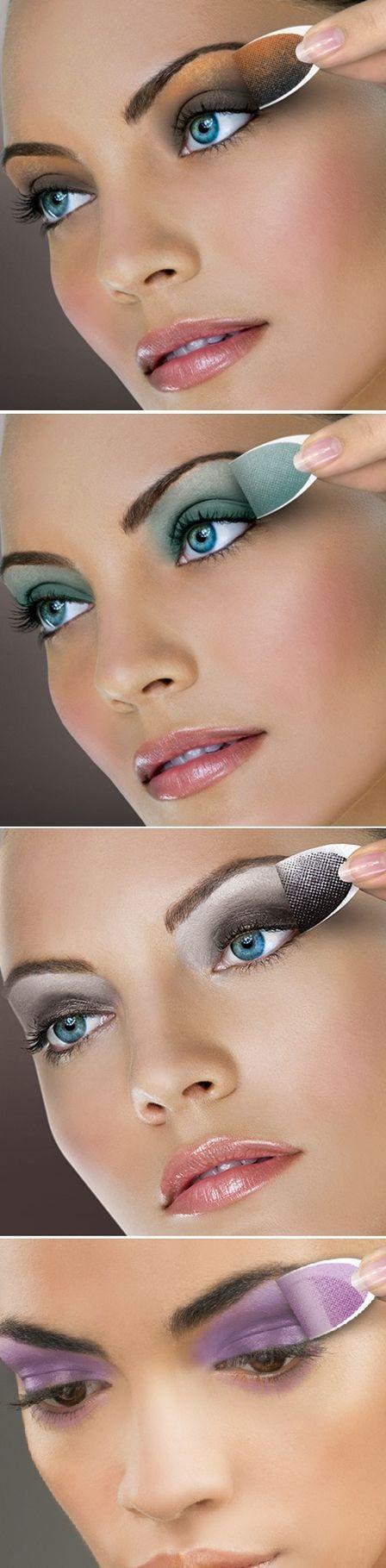 Maquiagem instantânea: sombra em forma de adesivo promete cor e esfumado perfeitos para os olhos