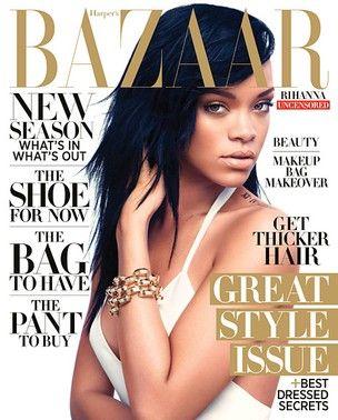 Rihanna fala sobre romance a revista: