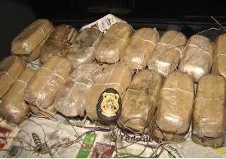 Polícia apreende quase 100 kg de cocaína em caminhão de açucar