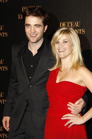 Robert Pattinson estaria refugiado em casa de Reese Witherspoon