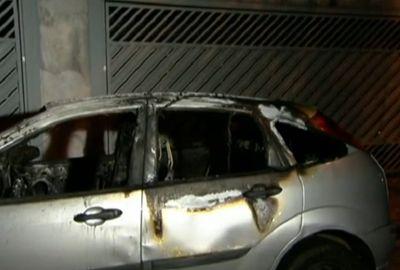 Criminosos colocam fogo em perito criminal durante assalto