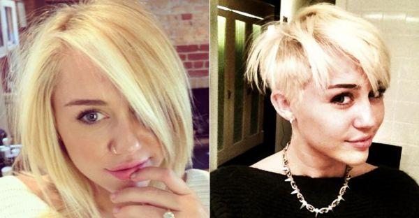 Miley Cyrus faz mudança radical no visual