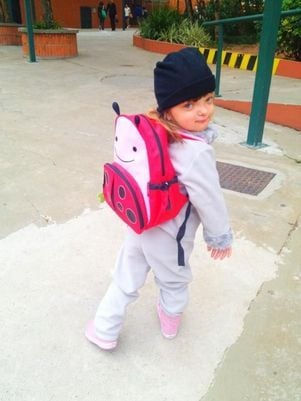 Ticiane Pinheiro divulga foto da filha Rafa na escola