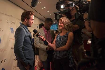 Pattinson surge em público pela primeira vez depois da traição