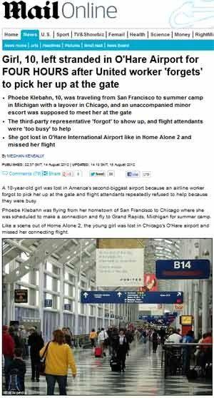 Menina de 10 anos é deixada sozinha em aeroporto por empresa aérea