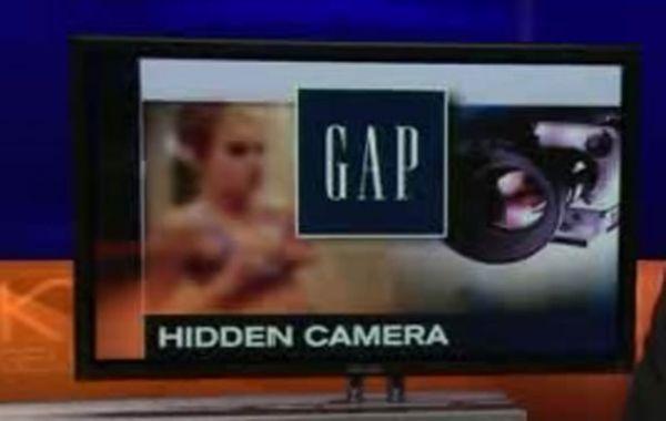 Câmera é encontrada escondida em provador de loja nos EUA