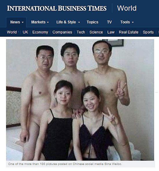 Cenas de nudez de políticos gera polêmica e China aumenta censura