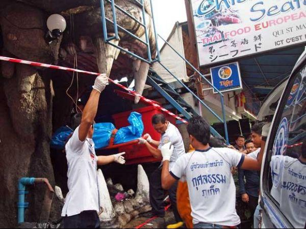 Incêndio em discoteca para turistas mata 4 na Tailândia