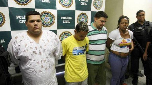 Vítima de bando de pai de santo teve a orelha mordida; cinco foram presos