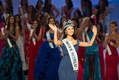 Representante da China é coroada Miss Mundo 2012