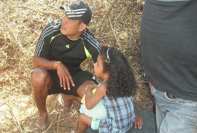 Carreta tomba na PI-113 e duas crianças saem ilesas
