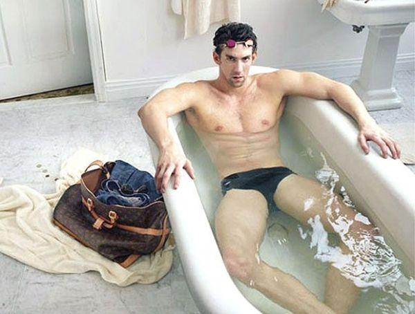 Phelps pode até perder medalhas  por propaganda durante os Jogos