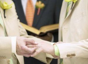 Lei que reconhece união gay está pronta para votação