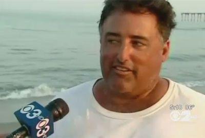 Americano fisga tubarão de 2,1 metros com vara de pescar