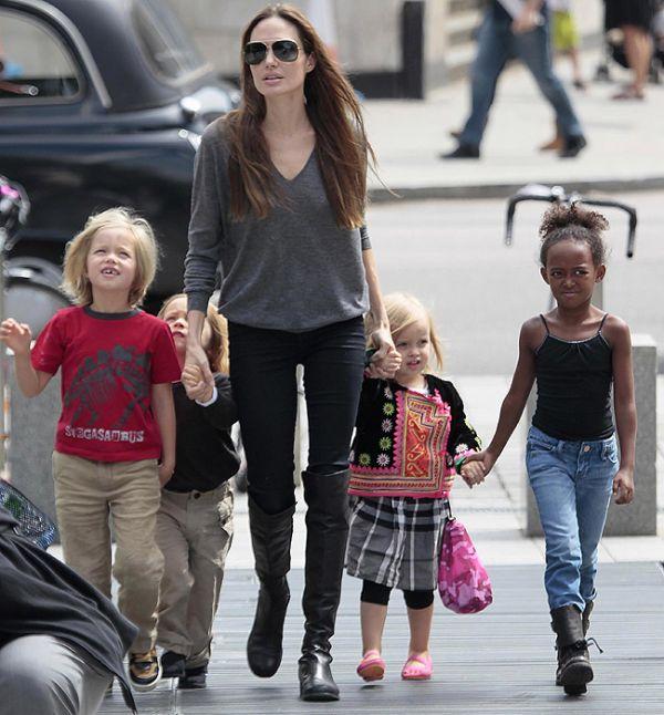 Filha de 4 anos de Brad e Angelina tem seu primeiro papel no cinema