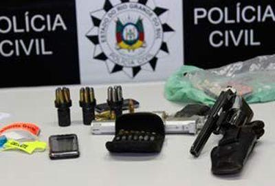 Polícia prende 3 por roubo no RS; suspeitos são de classe média