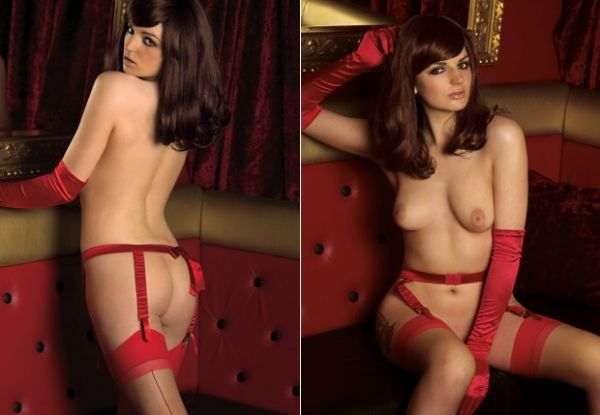 Veja fotos do ensaio nu da prima de Kate Middleton para a