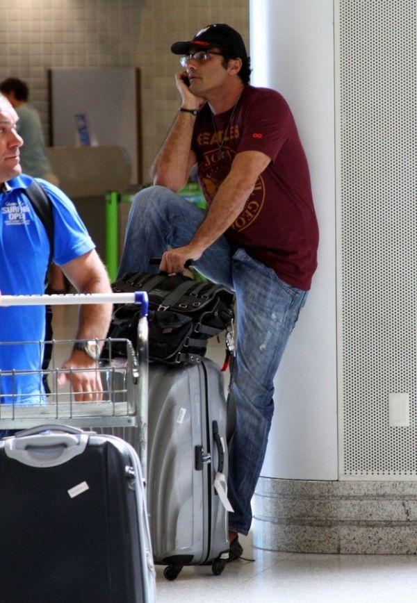 Luciano Szafir perde a carteira com R$ 3 mil em aeroporto