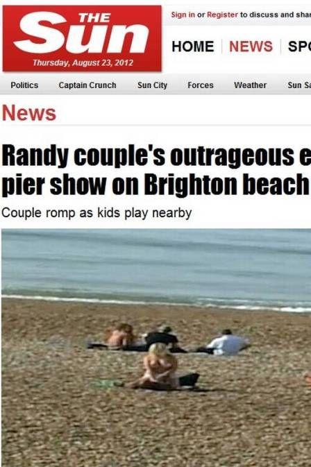 Casal faz sexo matinal em praia americana e choca banhistas